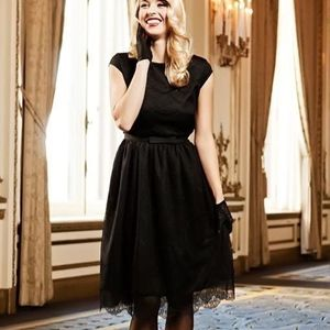 Shabby Apple Black Lace Dress
